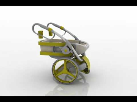 Concept Stroller Bumbel by Ascanio Costaguti