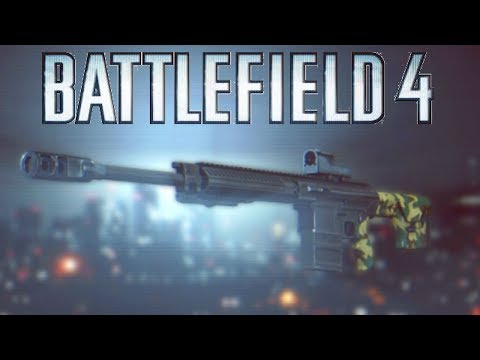 Battlefield 4 SR338 Weapon Review - NEW SNIPER RIFLE! (SR338 Gameplay/Unlock/Rev