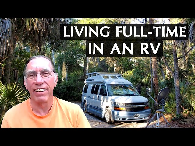 Fulltime RVing in a Class B: Campskunk's story
