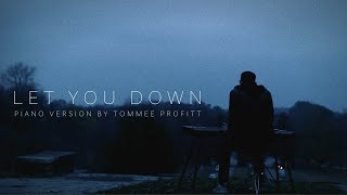 34 Let You Down 34 Nf Piano Version By Tommee Profitt
