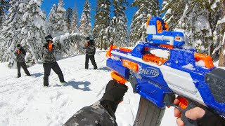 Nerf War: Winter Battle