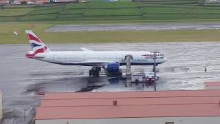 British Airways Medical emergency in Terceira 20/11/2018