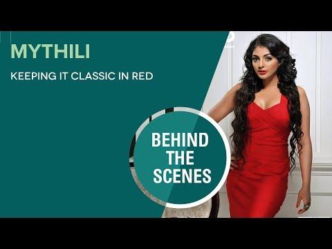 FWD Magazine :: Cover Shoot - Behind the scene :January 2014 Mythili