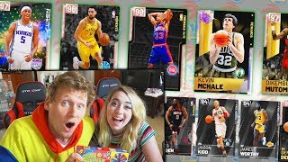 BEANBOOZLED NBA 2K19 DRAFT FORFEITS WITH MY GIRLFRIEND!