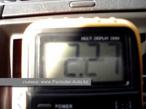 Видео как проверить датчик МАФ