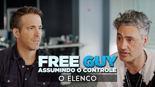 Free Guy: Assumindo o Controle • O Elenco (legendado)