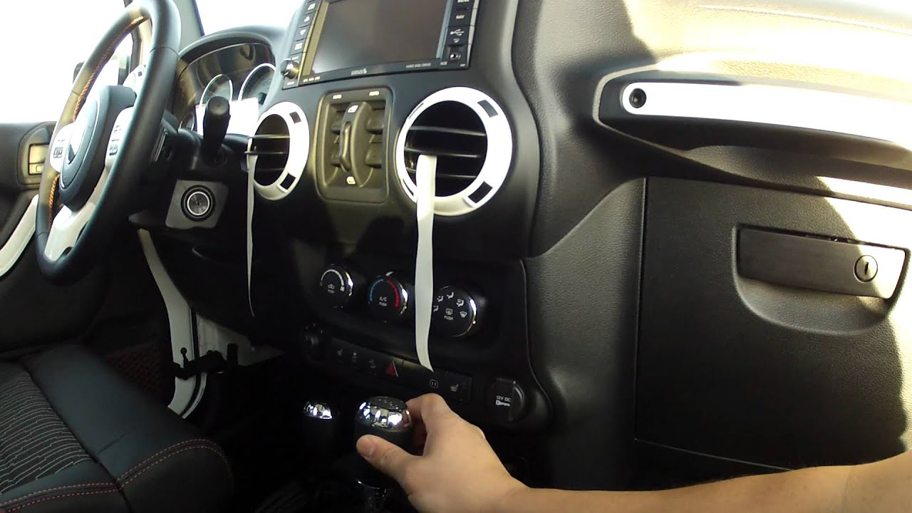 2012 Jeep Wrangler Unlimited Arctic Edition Interior Pt 1