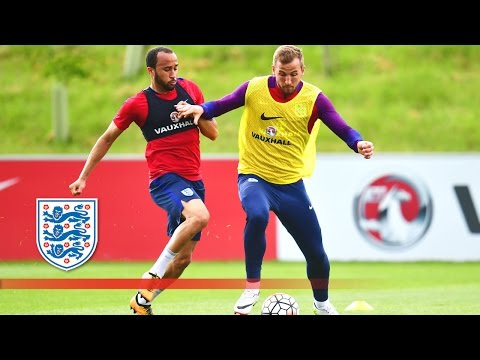 England's First Training Session for Euro 2016 | Inside Training
