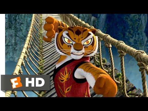 Kung Fu Panda (2008) - The Furious Five Bridge Fight Scene (7/10)   Movieclips