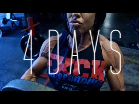 4 days from the stage | OLYMPIA 2014 | Dana Linn Bailey