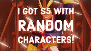 Random Ranked Fights S5 | Jump Force Online Gameplay |