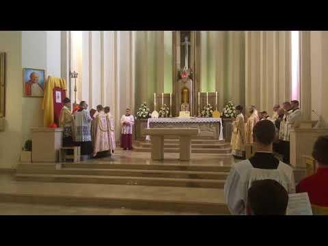 Msza Pontyfikalna Kardynał Burke W Szczecinie - Kamera Zapasowa.