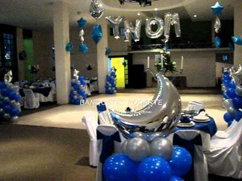 SALON RODARTE decoracion en azul rey - YouTube