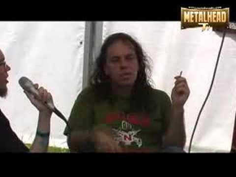Ralph Santolla interview at Hellfest 2008