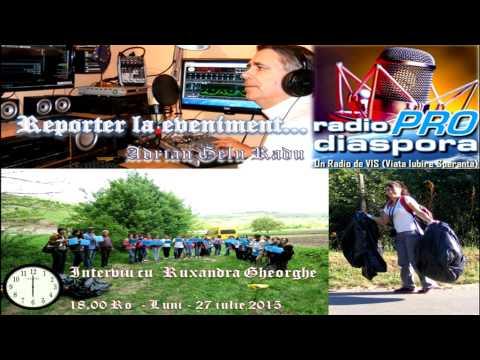 Radio ProDiaspora  - Leisure & Chinese  -  25 iulie 2015 -  Reportaj de Adrian Gelu Radu