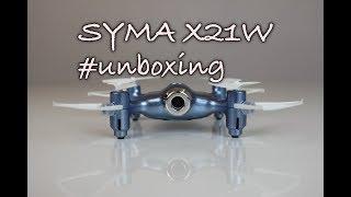 Syma X21W- Představení a unboxing dronu Syma X21W