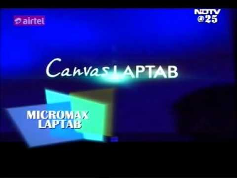 25 jan14 - Micromax LapTab at CES 2014 - Cell Guru - NDTV Profit