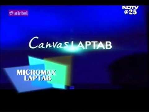 25 jan14 - Micromax LapTab at CES 2014 - Cell Guru - NDTV Profit
