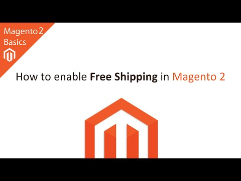 How to Enable Free Shipping in Magento 2