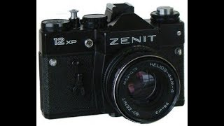 Finally, I've got it! The old and venerable Zenit 12XP 35mm film camera.