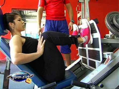 Ejercicios para piernas en prensa gluteos cuadriceps for Gimnasio 6 y 45
