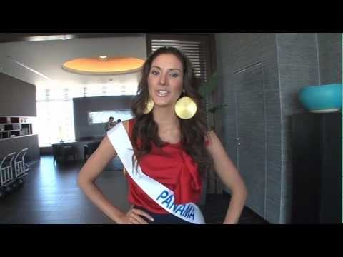 Miss International 2012 in Okinawa Miss greetings Part 1