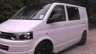 VW T5 Transporter with Milltek exhaust system