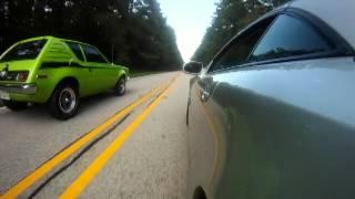 Mercedes SL500 VS. AMC Gremlin