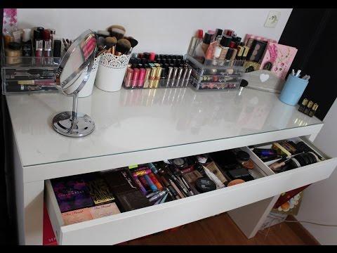 Makeup organisation - Rangement acrylique maquillage ...