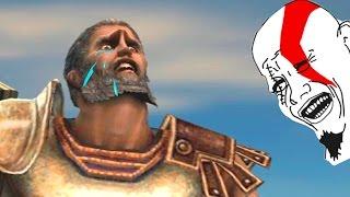 GOD OF WAR - BUG THESEUS TROLLADO HARD