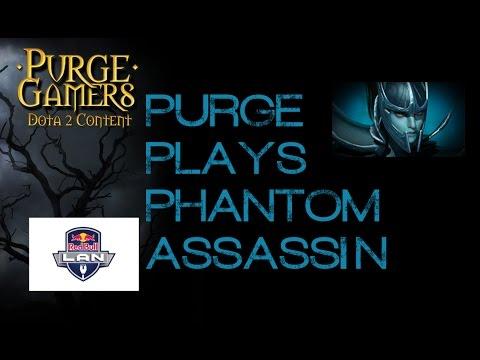 Purge plays Phantom Assassin RedBull LAN
