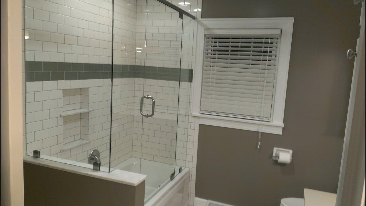 Puertas Correderas Para Un Baño:Como instalar puertas de vidrio para baños – YouTube