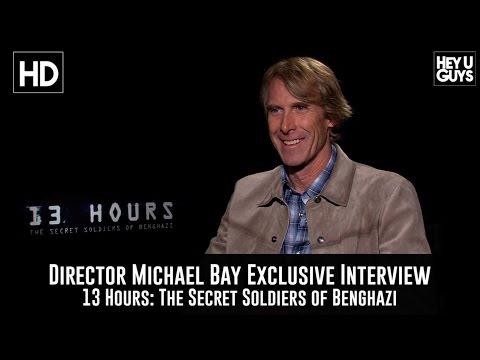 Michael Bay Exclusive Interview - 13 Hours: The Secret Soldiers Of Benghazi