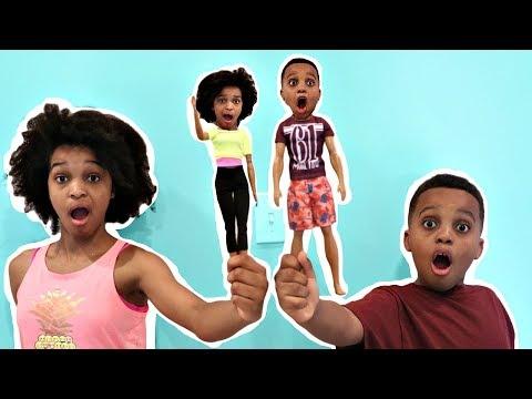 Shiloh and Shasha TURN INTO TOYS!  Onyx Kids