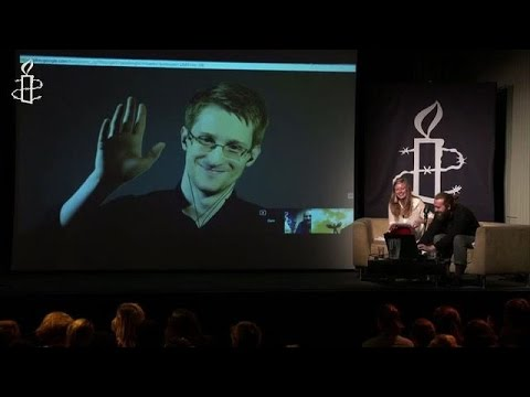 Curbing of US spy powers is 'historic': Edward Snowden