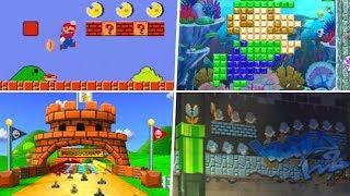 Evolution of Super Mario Bros. References in Nintendo Games (1988 - 2019)
