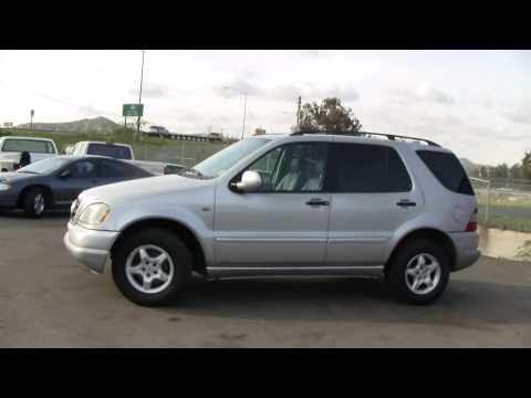 01 Mercedes Benz ML320 SUV W163 4x4 AWD ForSale $6500 Before EBAY