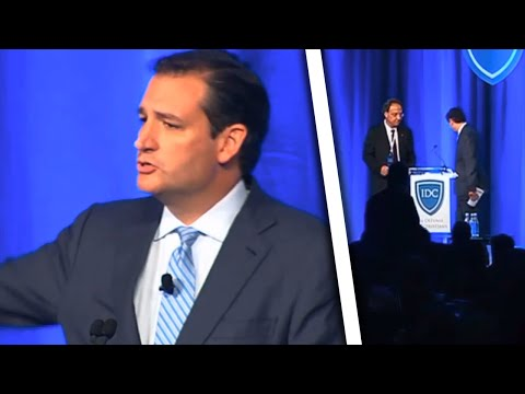 Ted Cruz Booed Offstage By Christians Who Had Enough