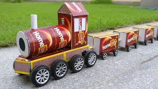 How to Make Matchbox Train at Home - DIY