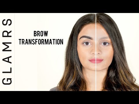 How To Fill In Your Eyebrows the Natural Way - Easy Tutorial | Glamrs Makeup