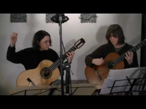 Guitar duet by Ida Presti: Danse D'Avila