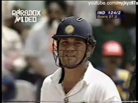 Sachin Tendulkar First Hundred vs Pakistan 1996