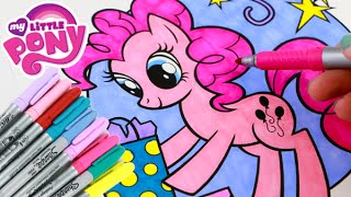 My Little Pony PINKIE PIE Speed Coloring Book with Markers