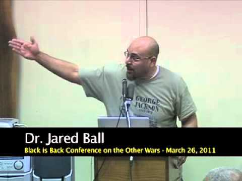 Colonialism And Media Psychological War - Dr. Jared Ball At The BIB Conference on the Other Wars
