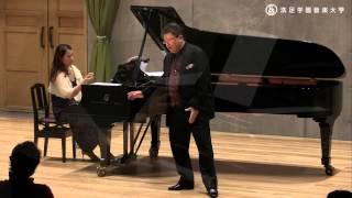 SMC 『牧野正人バリトンコンサート La Vita』