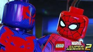 LEGO MARVEL SUPER HEROES 2 All Spider-Man Scenes
