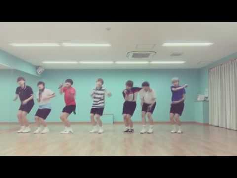 BTS Converse High Mirrored Dance Practice