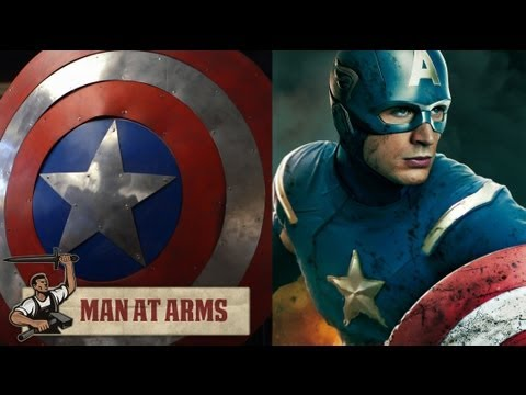 Captain America's Shield - MAN AT ARMS