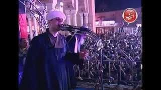 الشيخ محمود التهامى  قصيدة  (قمر سيدنا النبى وجميل)  حفلة السيد البدوى 2012   الجزء السابع