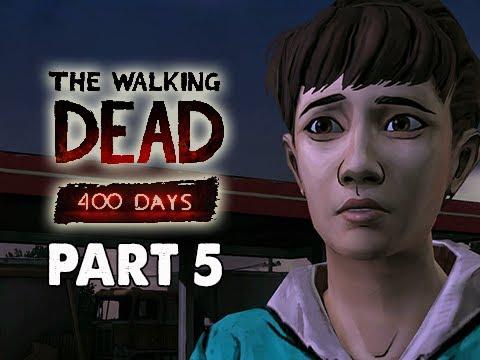 The Walking Dead 400 Days Gameplay Walkthrough - Part 5 Shel Storyline